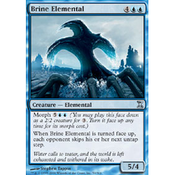 Magic löskort: Time Spiral: Brine Elemental
