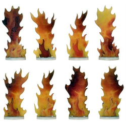 Flames of War: Destroyed Markers