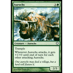 Magic löskort: Coldsnap: Aurochs