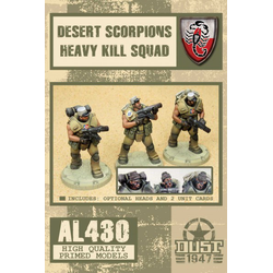 Allies Desert Scorpions Heavy Kill Squad