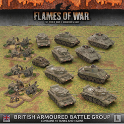 British Late War Armoured Battle Group