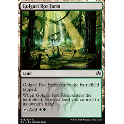 Magic löskort: Guild Kits: Golgari Rot Farm