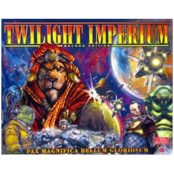 Twilight Imperium (2nd ed, delvis opunchat)