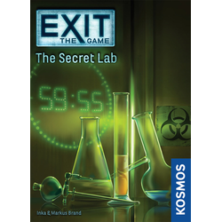 EXIT: The Game – The Secret Lab (eng. regler)
