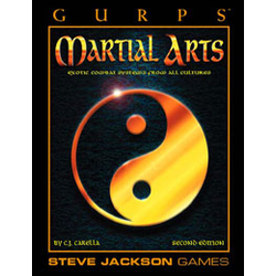 GURPS: Martial Arts 2nd ed