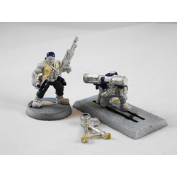 Imperial Guard/Astra Militarum: Catachan HW Team (Metall)