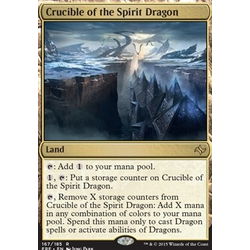 Magic löskort: Fate Reforged: Crucible of the Spirit Dragon
