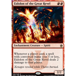 Magic löskort: Masters 25: Eidolon of the Great Revel