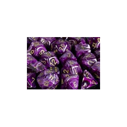 Vortex ™ Purple/gold (36-dice set)