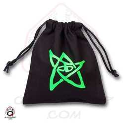 Dice Bag: Call of Cthulhu (Black / Green)