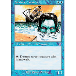 Magic löskort: Timeshifted: Merfolk Assassin