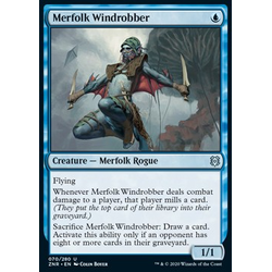 Magic löskort: Zendikar Rising: Merfolk Windrobber