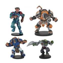 DreadBall: MegaBall Veterans - All-Stars MVP Pack