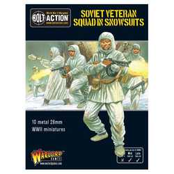 Soviet Soviet Veteran Squad in Snowsuits
