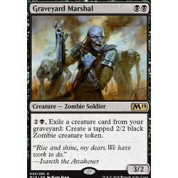 Magic löskort: Core Set 2019: Graveyard Marshal