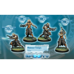 Tohaa Makaul - Troops (Box of 4)