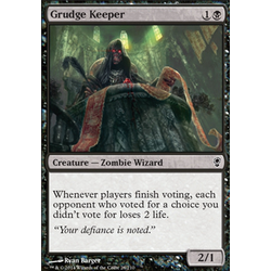Magic löskort: Conspiracy: Grudge Keeper