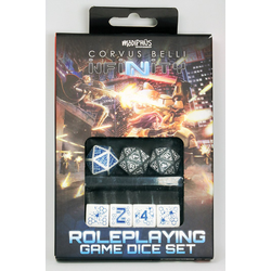Infinity RPG Dice Set: Mercenary