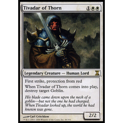 Magic löskort: Time Spiral: Tivadar of Thorn