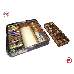 e-Raptor Insert compatible with Eldritch Horror