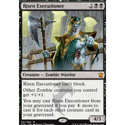 Magic löskort: Dragons of Tarkir: Risen Executioner (Foil)