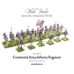 Continental Infantry Regiment (Plastic Box)