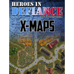 Lock 'n Load Tactical: Heroes in Defiance - X-Maps