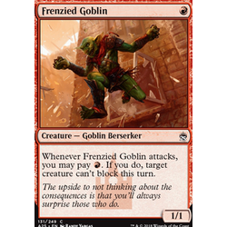Magic löskort: Masters 25: Frenzied Goblin