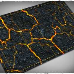 DCS Game Mat Fantasy Football Inferno 1,8x3,0 ~ 55x92cm (Mousepad)