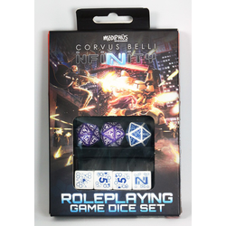 Infinity RPG Dice Set: Combined Army