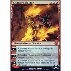 Magic löskort: Duel Decks: Jace vs Chandra: Chandra Nalaar (Foil)