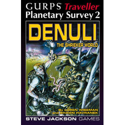 GURPS: Traveller Planetary Survey 2 (begagnad)