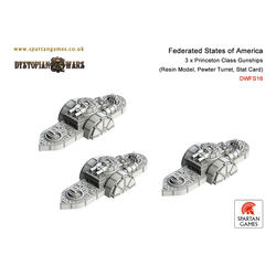 Federated States of America Princeton Class Gunships (3)