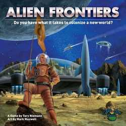 Alien Frontiers 4:th Edition