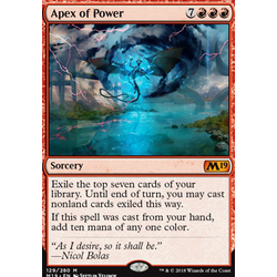 Magic löskort: Core Set 2019: Apex of Power