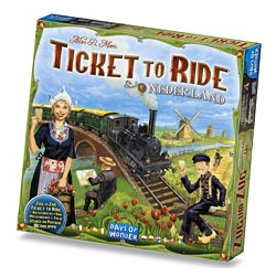 Ticket to Ride Map Collection 4 - Nederland