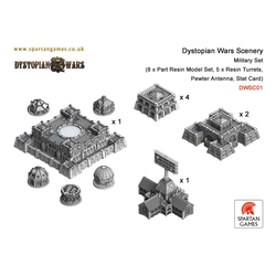 Dystopian Wars Military Set