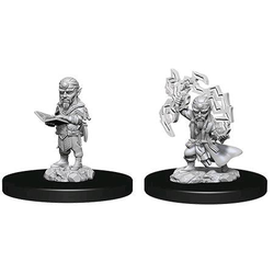 Pathfinder Deep Cuts (Unpainted): Male Gnome Sorcerer