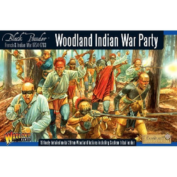French-Indian War: Woodland Indian War Party