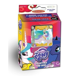 My Little Pony CCG: Canterlot Nights Theme Deck Celestia