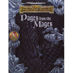 ADD 2nd ed: Forgotten Realms - Pages from the Mages
