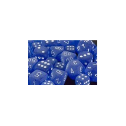 Frosted™ Blue/white (36-dice set)