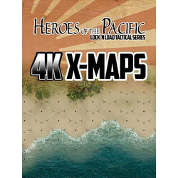 Lock 'n Load Tactical: Heroes of the Pacific 4K X-Maps