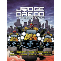 Judge Dredd & The Worlds Of 2000 AD Core Rulebook (RPG)
