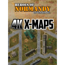 Lock 'n Load Tactical: Heroes of Normandy 4K X-Maps