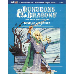 D&D: O2, Blade of Vengeance (1984)