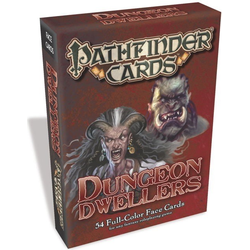 Pathfinder Face Cards: Dungeon Dwellers