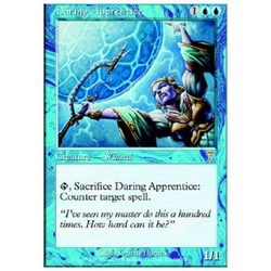 Magic löskort: 7th Edition: Daring Apprentice