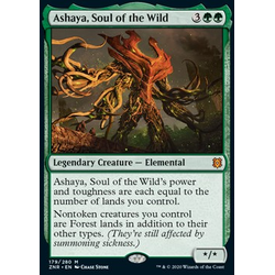 Magic löskort: Zendikar Rising: Ashaya, Soul of the Wild