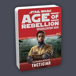 Star Wars: Age of Rebellion: Specialization Deck - Commander Tactician
